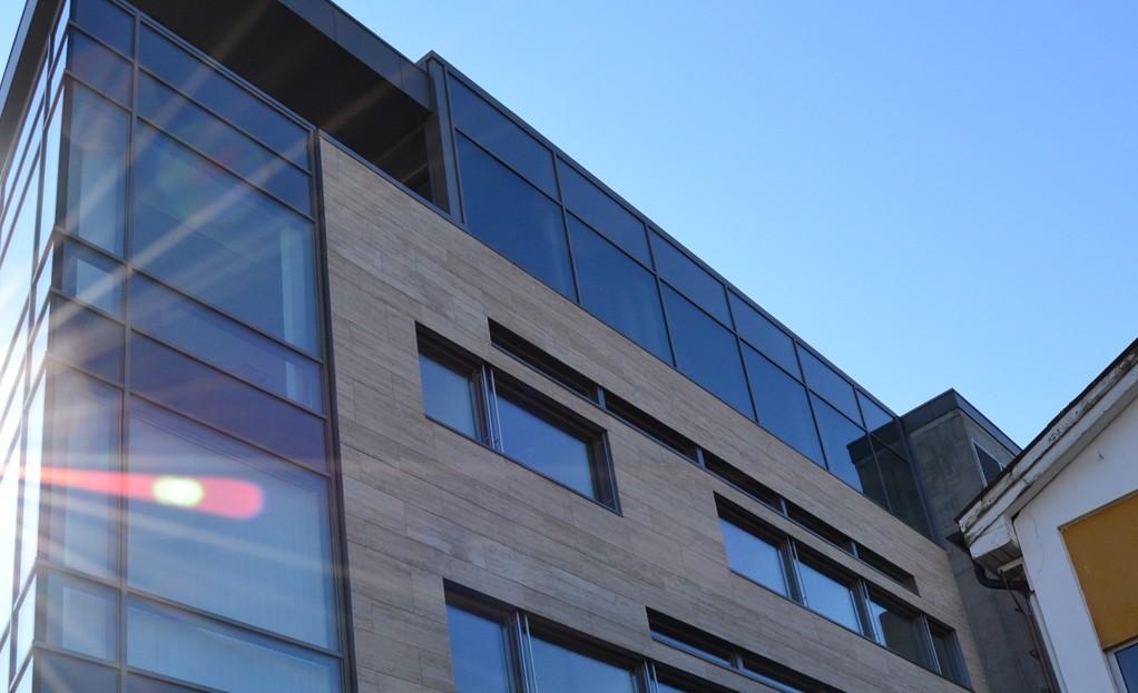 Fasade for NMK Ålesund